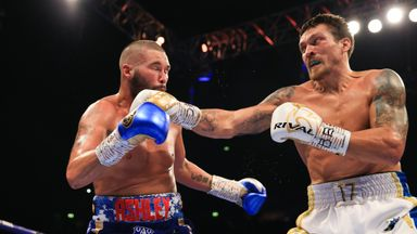Bellew knocked out by Usyk