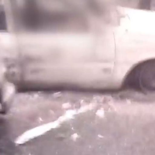Footage emerges of bodies in cars