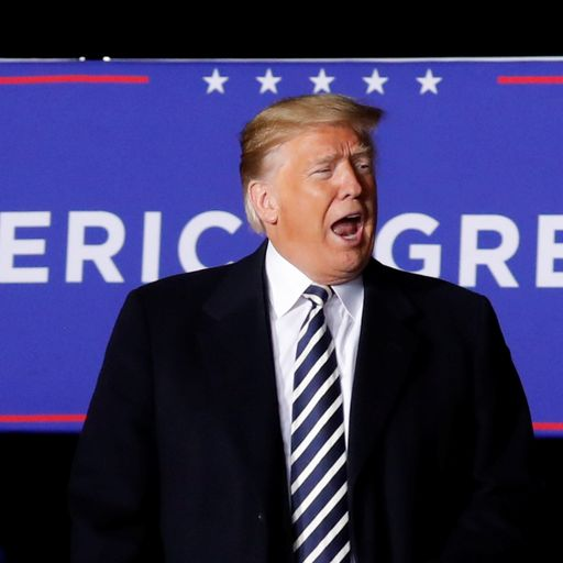 Fractured America: Voters to deliver verdict on Trump
