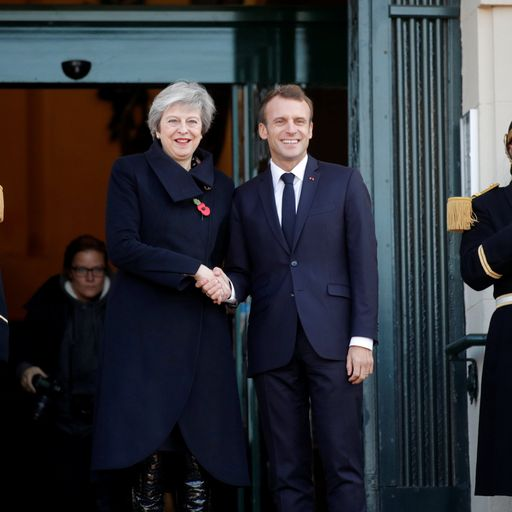 Emmanuel Macron will play hardball with Theresa May on Brexit delay