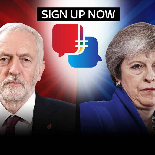 Sign up to leaders' debates campaign