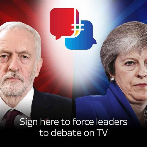 Force leaders to debate on TV
