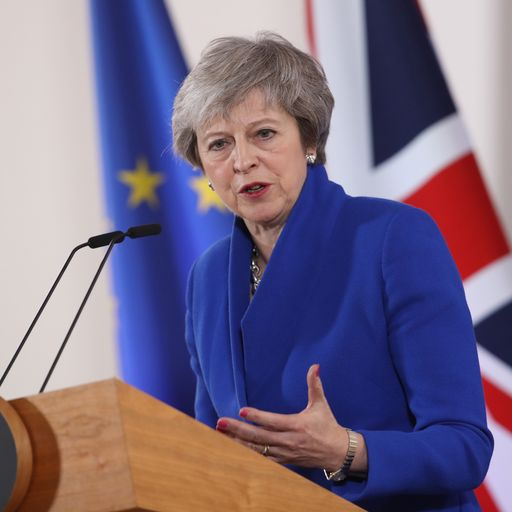 'Division and uncertainty' if Brexit deal rejected, Theresa May warns