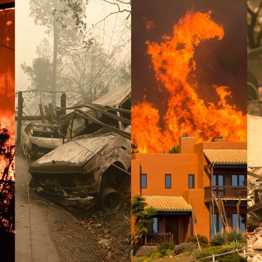 Before and after one of America's deadliest fires