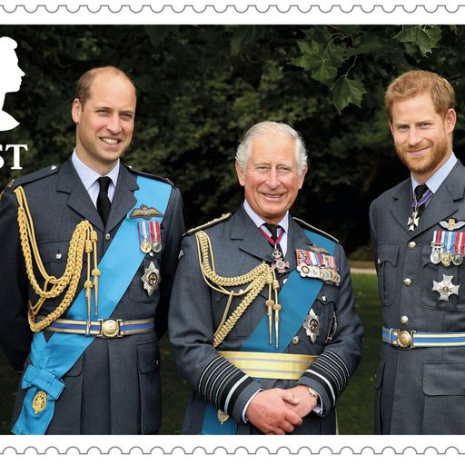 Prince Charles at 70: Royal Mail releases birthday stamps