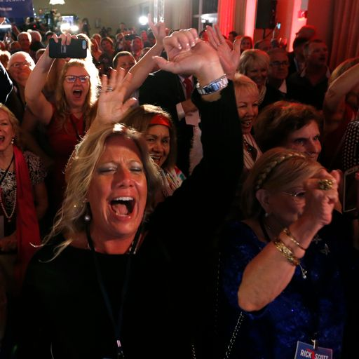LIVE: Republicans retain Senate but look set to lose House