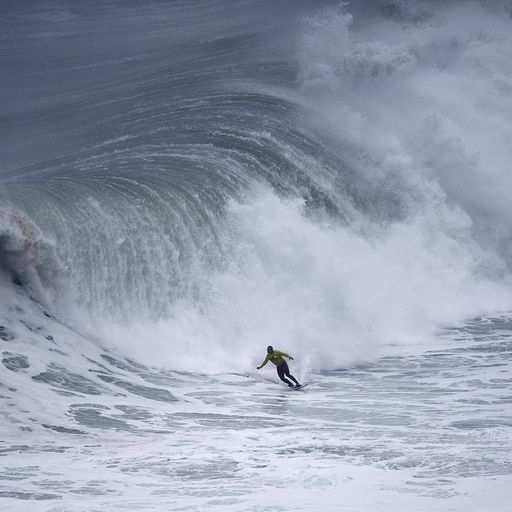 Big wave surfer launches campaign to clean up ocean