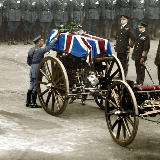 First World War brought to life in colour