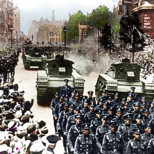 In pictures: First World War brought to life in colour
