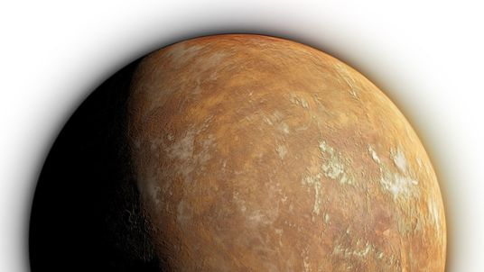 An artist's impression of the surface of Barnard's star