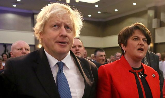 Blow for Boris Johnson before Brussels summit as DUP say they won't support proposed deal