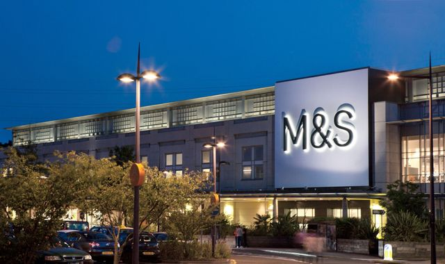 M&S plots food store growth as annual sales and profits fall