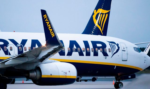 Ryanair blames lower-than-expected winter airfares as it issues profit warning