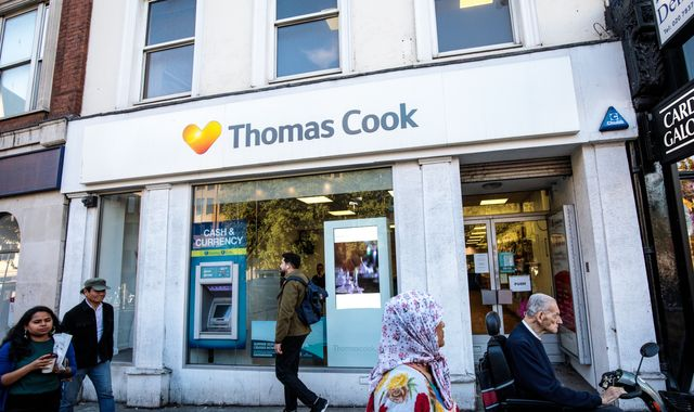 Thomas Cook in talks about £1bn rescue package