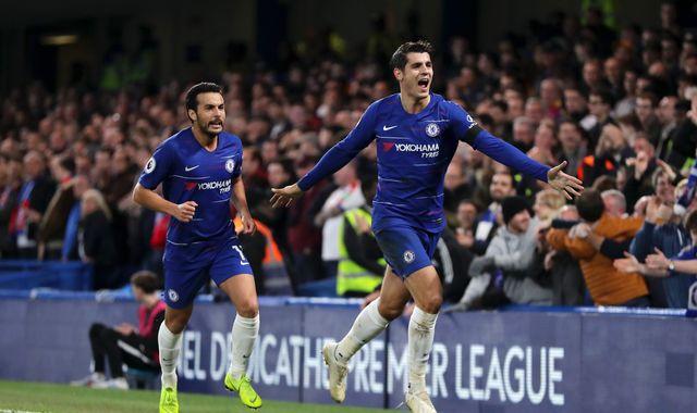 Atletico Madrid in talks to sign Alvaro Morata from Chelsea