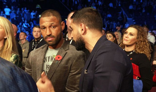 Kell Brook 'doesn't think' a fight with Amir Khan will happen