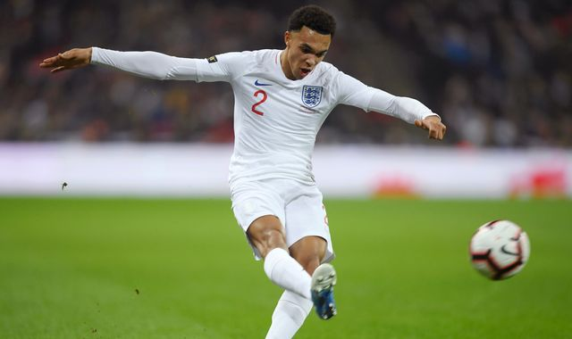 Liverpool defender Trent Alexander-Arnold pulls out of England squad with back injury
