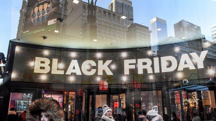 Black Friday is a big phenomenon in America