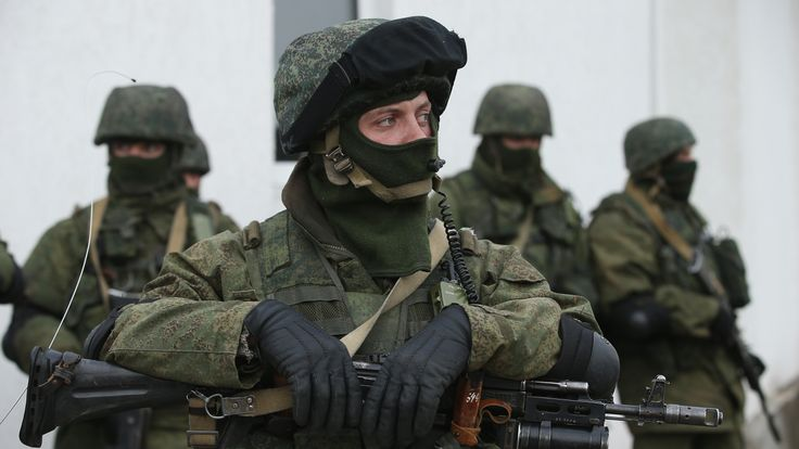Troops with no identifying markings appeared in Crimea almost overnight, alllowing Russia to annex the territory