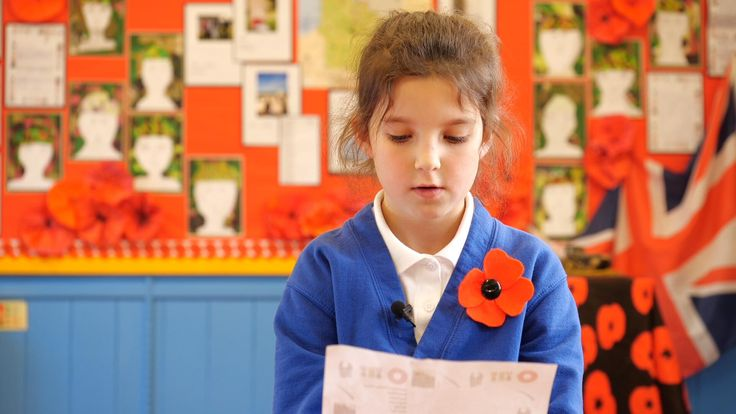 Pupils at a local school each adopted a soldier to write to.