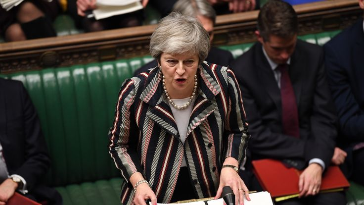 Theresa May Pic: UK Parliament/Jessica Taylor