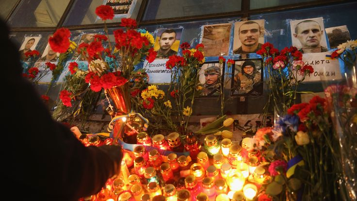 .An anniversary in 2015 paid tribute to those who lost their lives in the Maidan protests