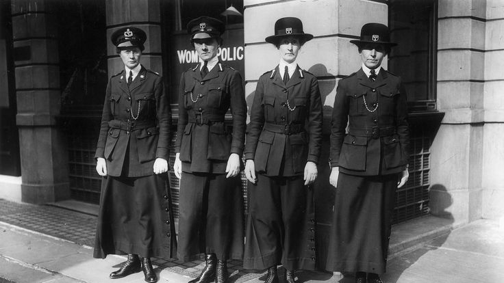 Female police officers were introduced to monitor women's behaviour