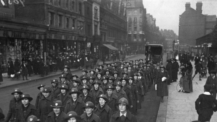 The Women's Army Auxiliary Corps (WAAC) often held recruitment marches