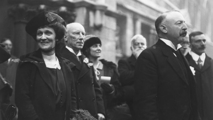 Lady Nancy Astor became the first female MP in 1918
