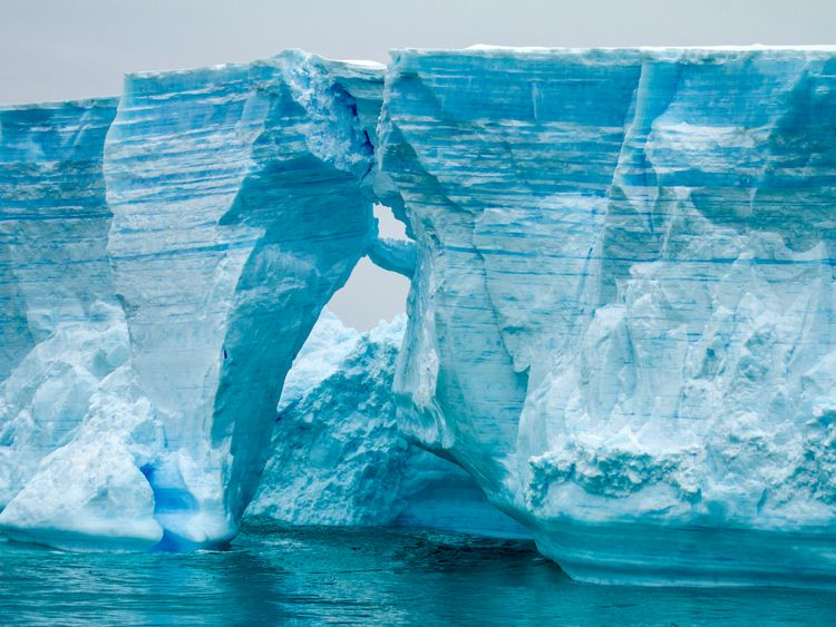 The banning of CFCs has helped to repair the ozone hole above Antarctica