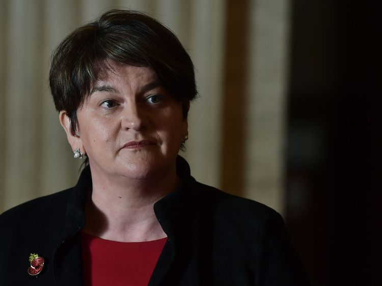 DUP fires warning shot at May as PM vows to deliver Brexit