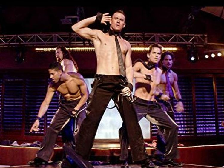 Channing Tatum starred as Magic Mike in 2012