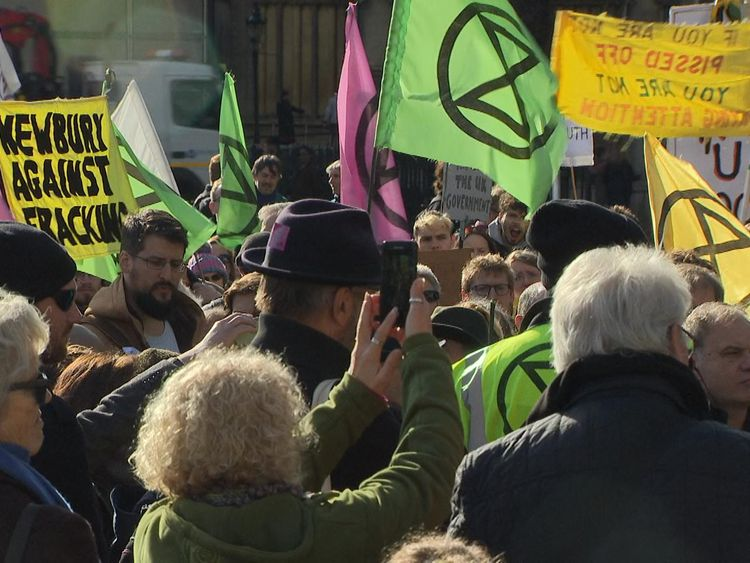 Major disruption is expected in London today, as environmental activists take part in a 'Rebellion Day'.