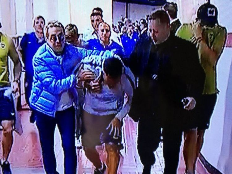 Boca Juniors players hurt in bus attack ahead of Copa Libertadores final