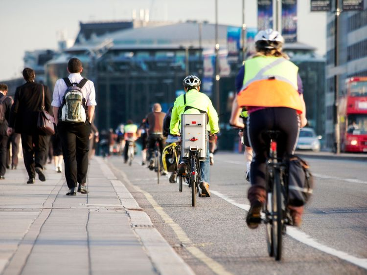 Local councils are being encouraged to spend more on cycling and walking infrastructure