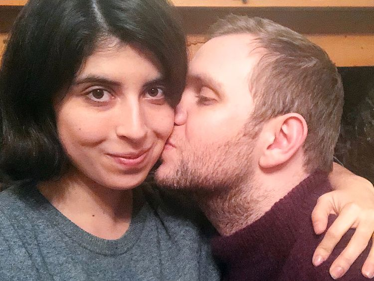 Daniela Tejada and Matthew Hedges. Pic: Daniela Tejada.