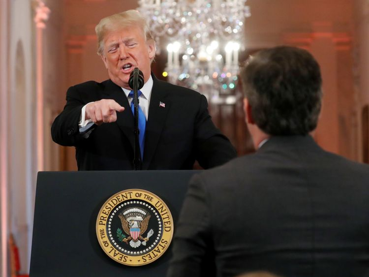 White House accused of using 'doctored' Jim Acosta video