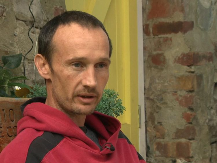 Anthony Corbett is in rehab at Chandos House in Bristol