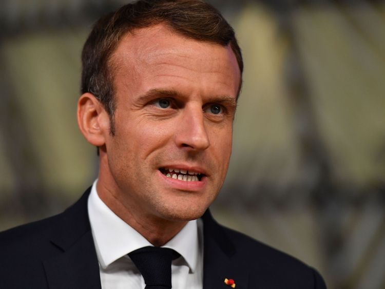 Emmanuel Macron wants Europe to have a dedicated army