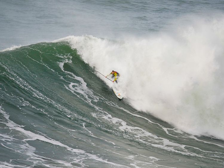The surfer says he wants to give something back to the ocean