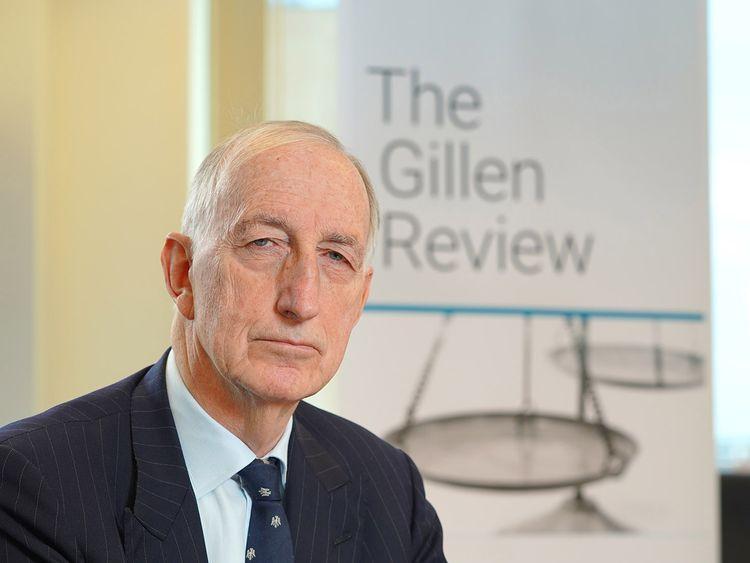 Sir John Gillen made 220 recommendations