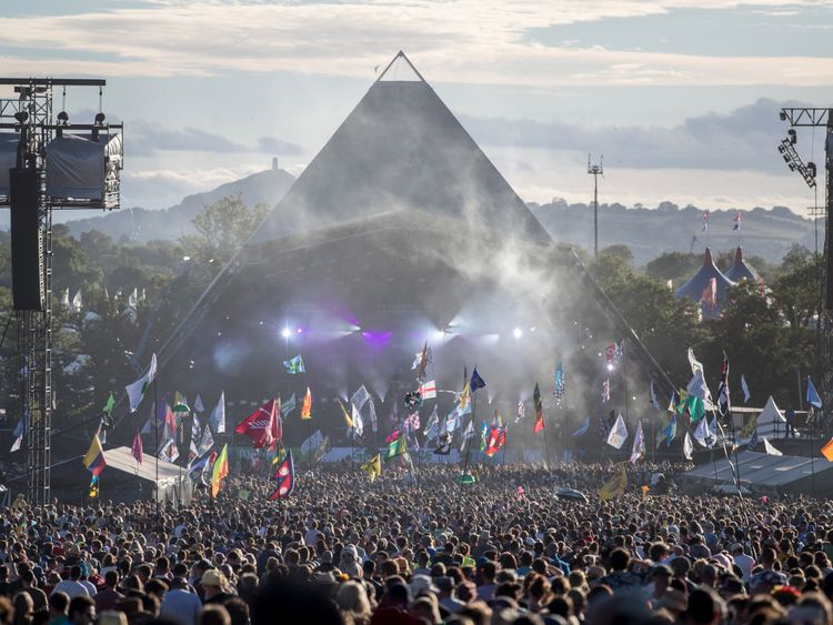 Stormzy confirmed as first Glastonbury headliner