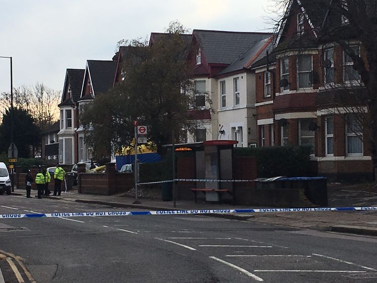 Police are keeping an 'open mind' as to how the devices came to be in the flat
