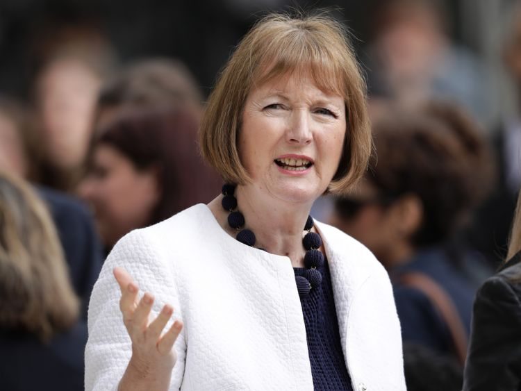 Harriet Harman will be on a panel discussing women in politics