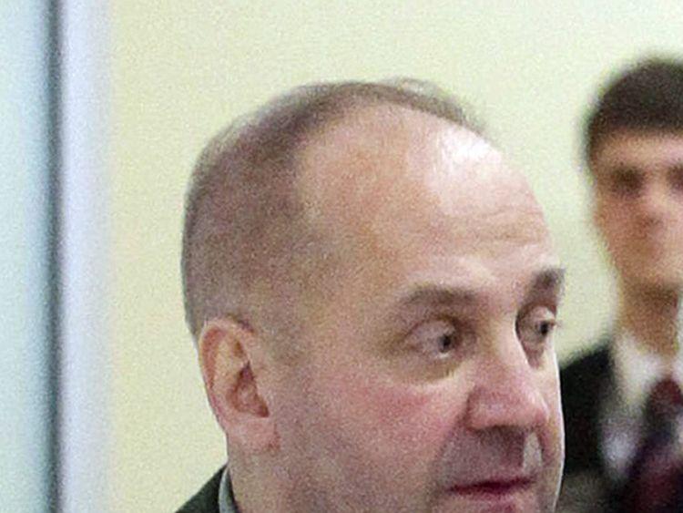 January 19, 2014, shows head of the GRU, Lieutenant General Igor Sergun