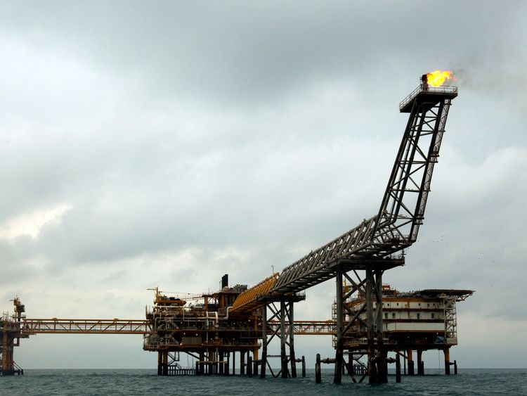 Buying energy from Iran, like that from this gas platform in Assalouyeh, is restricted by the sanctions