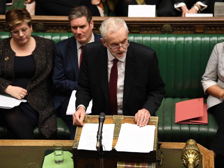 Jeremy Corbyn Pic: UK Parliament/Jessica Taylor