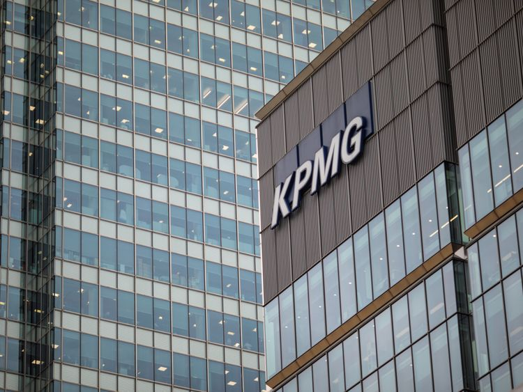 The KPMG offices at 15 Canada Square, Canary Wharf