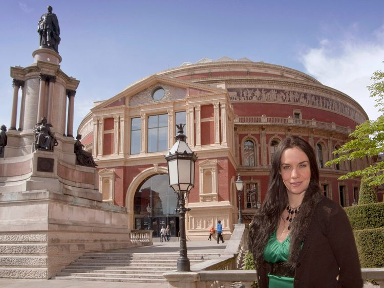 Lucy Noble, artistic director at Royal Albert Hall