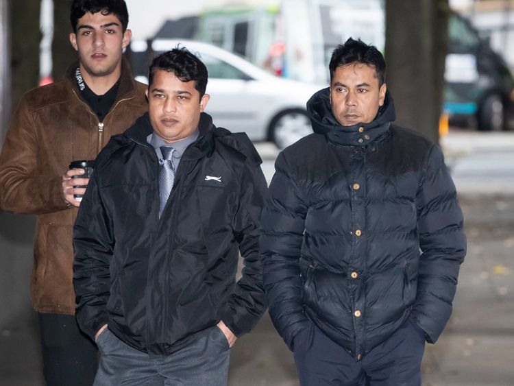 Harun Rashid (left) and Mohammed Kuddus (right) have been jailed over Megan Lee's death